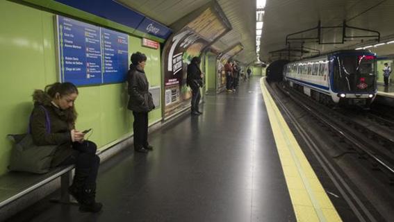 Nueva adjudicación para Intervías en Madrid – Renovación de apoyos vía entre estaciones Callao-Ópera y Ópera-La Latina